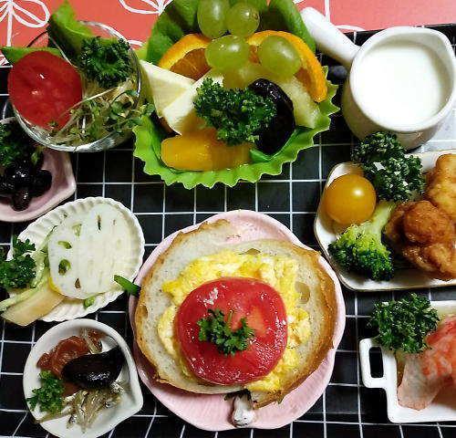 3月24日の朝食