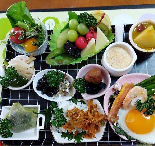 4月3日の朝食