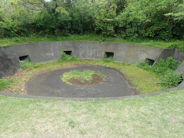 砲台山(大塚山)の砲台跡